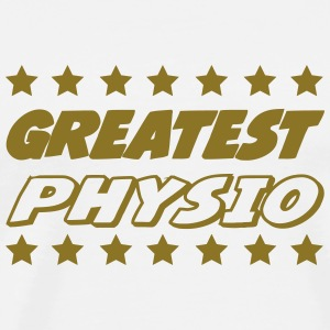 Greatest physio Tee shirts - T-shirt Premium Homme
