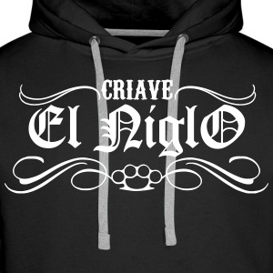 Chicano Street Sweat-shirts - Sweat-shirt à capuche Premium pour hommes