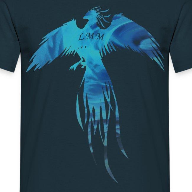"""T-shirt homme bleu marine """"Phoenix LMM"""""""