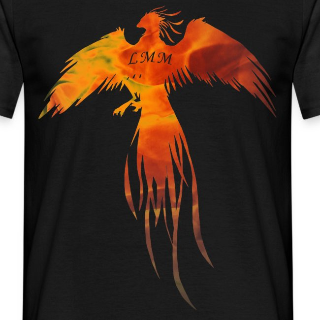 "T-shirt homme noir ""Phoenix LMM"""
