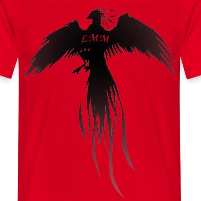 """T-shirt homme rouge """"Phoenix LMM"""""""