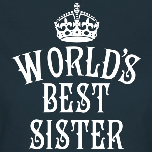 23 World's best Sister Crown Queen Krone Köninigi - Frauen T-Shirt
