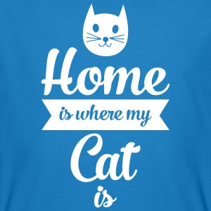 Home Is Where My Cat Is T-Shirts - Men's Organic T-shirt