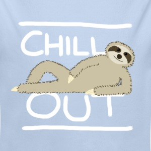Sloth Chill Out Baby Bodysuits - Longlseeve Baby Bodysuit