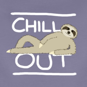 Sloth Chill Out T-Shirts - Women's Premium T-Shirt
