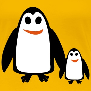 Two penguins - Women's Premium T-Shirt