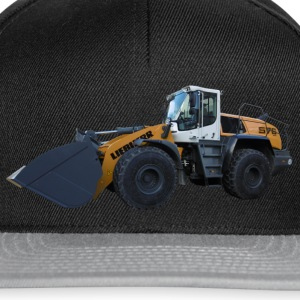 wheel loader Caps & Hats - Snapback Cap