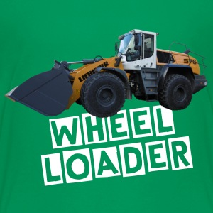 wheel loader T-shirts - Teenager premium T-shirt