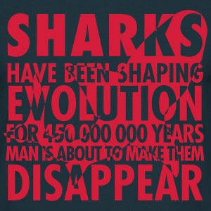 Sharks shaping evolution 2 - T-shirt Homme