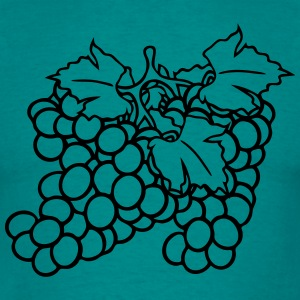 many grape grapes harvest tasty wine T-Shirts - Men's T-Shirt