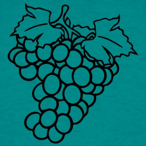 grapes grape harvesting tasty wine T-Shirts - Men's T-Shirt