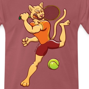 Puma Performing Tennis Smash T-Shirts - Men's Premium T-Shirt