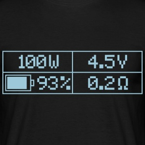 100 Watt T-Shirt - Herre-T-shirt