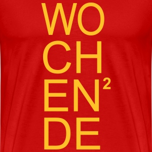 Wochenende hoch 2 Weekend City Club Party T-Shirts - Männer Premium T-Shirt