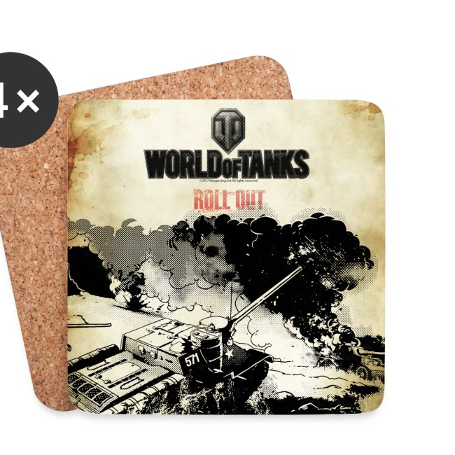 World of Tanks Roll out Untersetzer