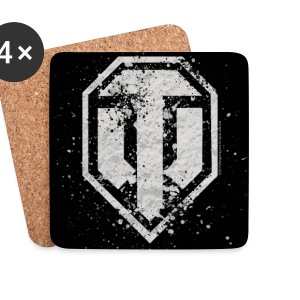 World of Tanks Logo vintage Coasters - Coasters (set of 4)