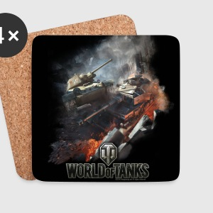 World of Tanks Battlefield Untersetzer - Untersetzer (4er-Set)