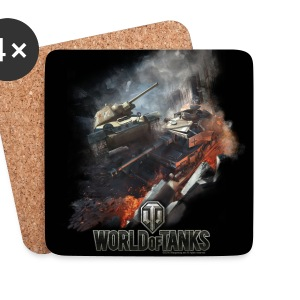 World of Tanks Battlefield Coasters - Sottobicchieri (set da 4 pezzi)