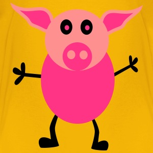 Pretty pig - Kids' Premium T-Shirt