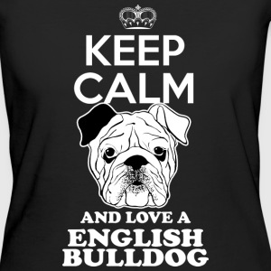English bulldog T-Shirts - Women's Organic T-shirt