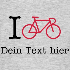 I Bicycle - (Your City) T-Shirts - Men's T-Shirt