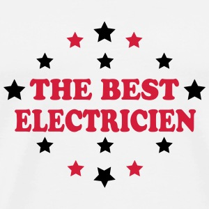 The best electricien Tee shirts - T-shirt Premium Homme
