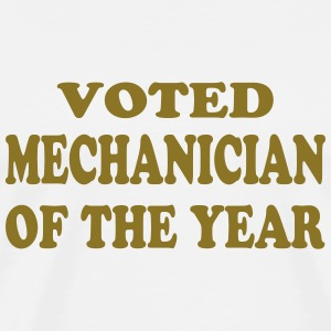 Voted mechanician of the year T-Shirts - Männer Premium T-Shirt