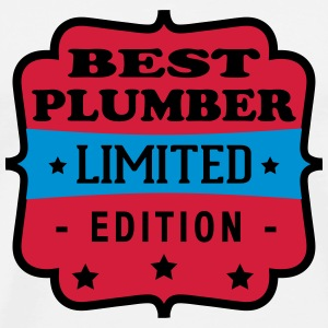 Best plumber limited edition T-Shirts - Men's Premium T-Shirt