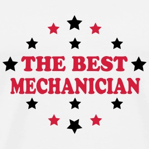 The best mechanician T-shirts - Herre premium T-shirt