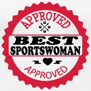 Approved best sportswoman T-Shirts - Women's Premium T-Shirt