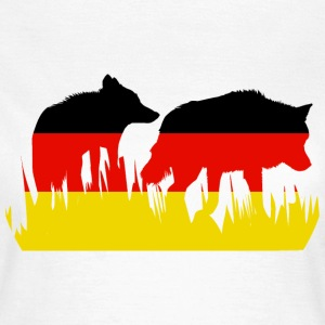 Deutsch Wolf T-Shirts - Frauen T-Shirt
