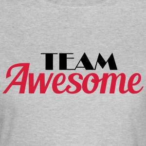 Team Awesome T-shirts - Dame-T-shirt