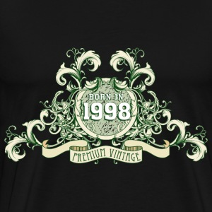 042016_born_in_the_year_1998c T-Shirts - Männer Premium T-Shirt