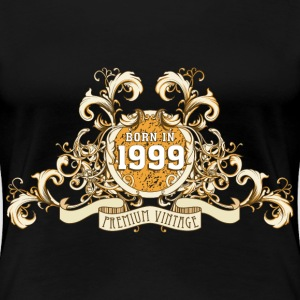 042016_born_in_the_year_1999a T-Shirts - Frauen Premium T-Shirt