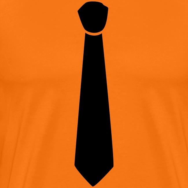 Koningsdag T-shirt met stropdas