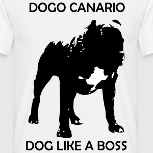 Dog like a Boss - Männer T-Shirt