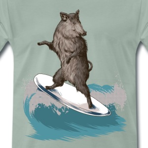 Severn Boar T-Shirts - Men's Premium T-Shirt