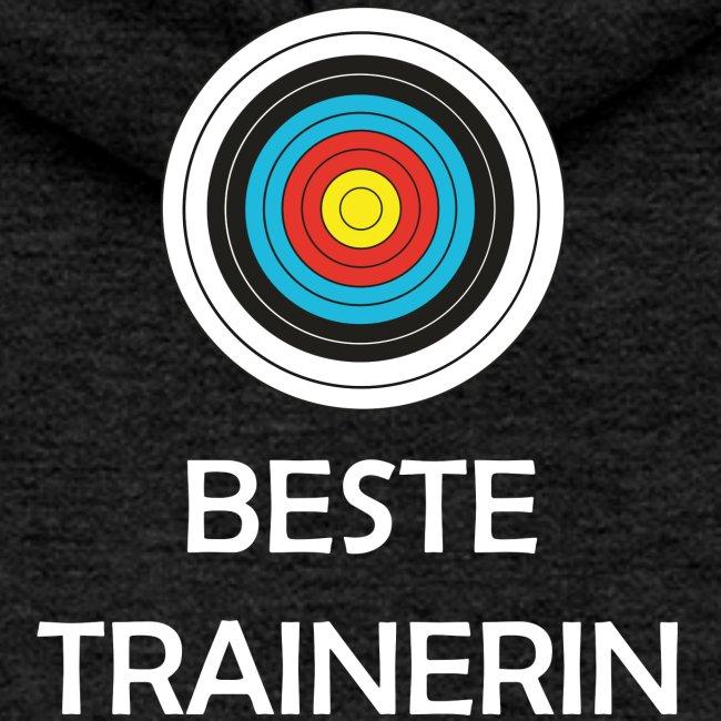 Frauen Premium Kapuzenjacke - Beste Trainerin