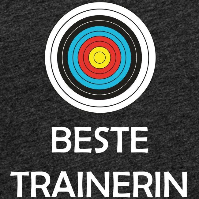 Frauen Premium Tank Top - Beste Trainerin