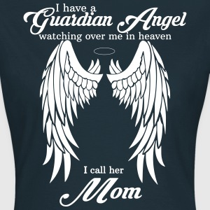 My Mom Is My Guardian Angel she Watches Over My B T-Shirts - Women's T-Shirt