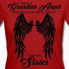 My Sisters My Guardian Angel she Watches Over My  T-Shirts