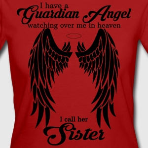My Sisters My Guardian Angel she Watches Over My  T-Shirts - Women's Organic T-shirt