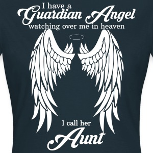 i have a guardian angel aunt T-Shirts - Women's T-Shirt