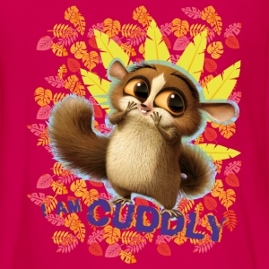 DreamWorks King Julien 'I am cuddly' Teenager Lang - Teenager Premium Langarmshirt