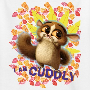 DreamWorks King Julien 'I am cuddly' Teenager T-Sh - Teenage T-shirt
