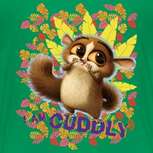 DreamWorks King Julien 'I am cuddly' Teenager T-Sh - Teenager Premium T-Shirt