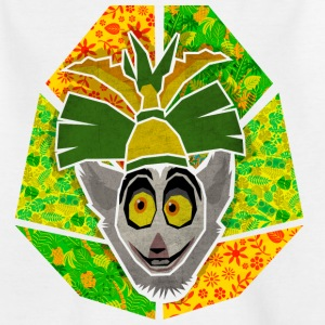 DreamWorks King Julien 'Kinf Julien head' Teenager - Teenage T-shirt