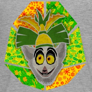 DreamWorks King Julien 'Kopf' Teenager Langarmshir - Teenager Premium Langarmshirt