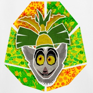 DreamWorks King Julien 'Kinf Julien head' Kid's Ho - Kids' Premium Hoodie