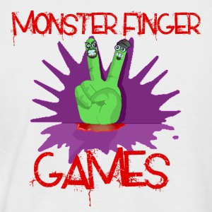 Monster Finger Baseball Top - Men's Baseball T-Shirt